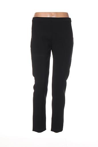 Pantalon 7/8 noir DIANA GALLESI pour femme