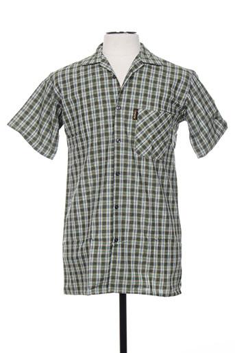 laboureur chemises homme de couleur vert