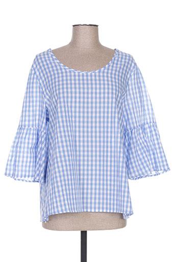 jubylee chemises femme de couleur bleu