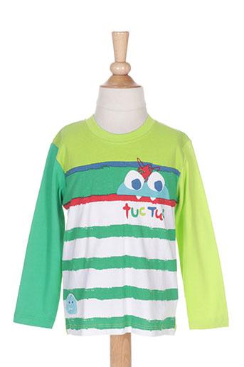 tuc tuc t-shirts garçon de couleur vert