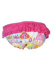 Bas de maillot de bain rose TUC TUC pour fille seconde vue