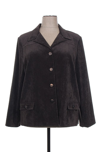 gevana vestes femme de couleur marron