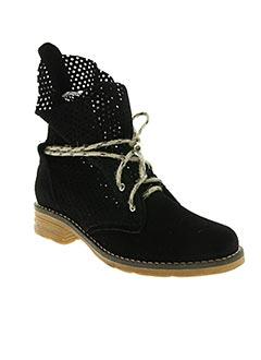Bottines/Boots noir BELKAR pour femme