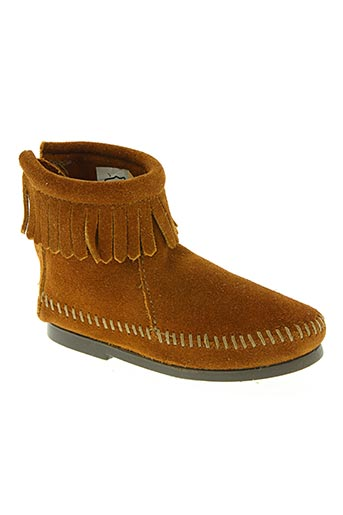 Bottines/Boots marron MINNETONKA pour fille