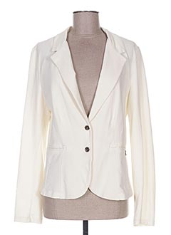Veste chic / Blazer beige PAKO LITTO pour femme