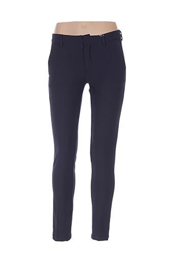 Pantalon chic bleu BÔ-M pour femme