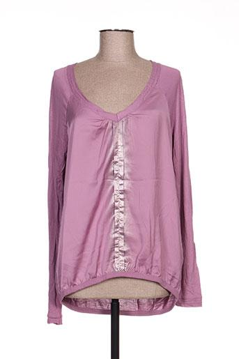 expresso chemises femme de couleur violet
