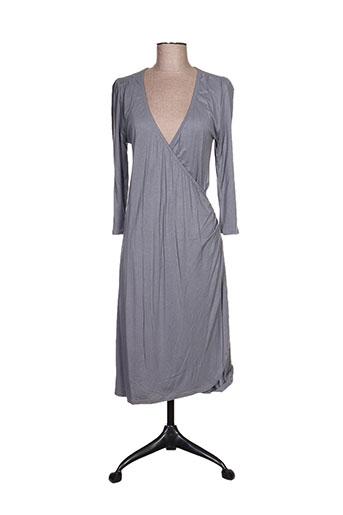 Robe mi-longue gris ALISON.B pour femme