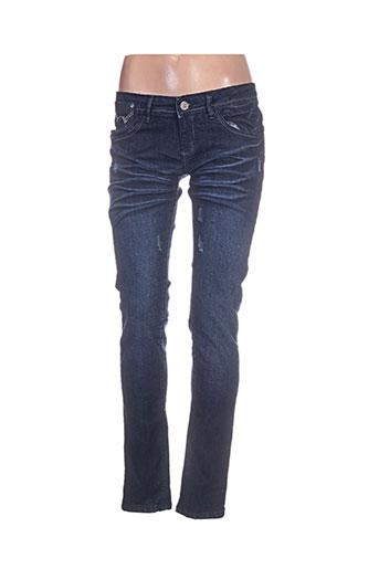 dolce EFFI_CHAR_1 rosa jeans femme de couleur bleu