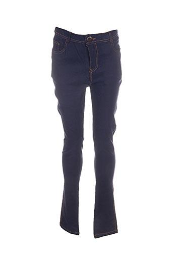 Pantalon casual bleu C-F2 pour femme