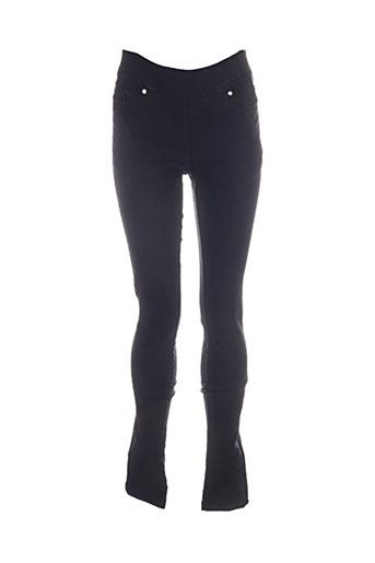 Pantalon casual noir C-F2 pour femme