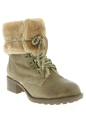 texto chaussures femme de couleur beige