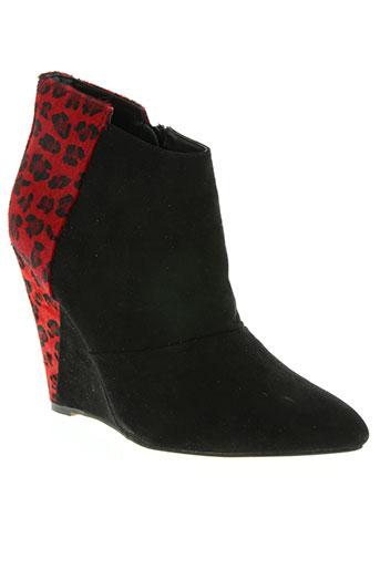 texto chaussures femme de couleur noir