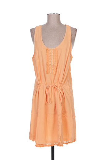 carminn robes femme de couleur orange