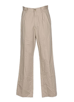 Pantalon chic beige HENBURY pour homme