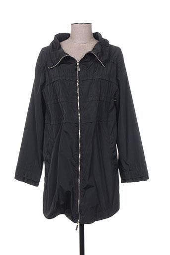 marella manteaux femme de couleur noir