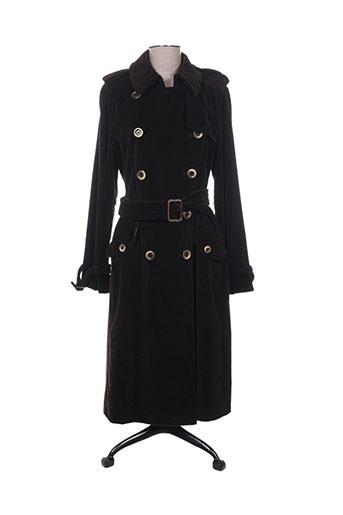 maxmara manteaux femme de couleur marron