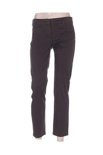 maxmara pantalons femme de couleur gris