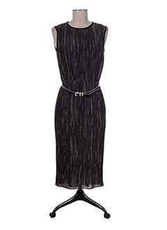 Robe mi-longue marron MAXMARA pour femme
