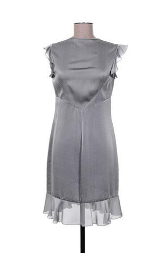 Robe mi-longue gris AZZARO pour femme