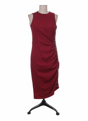 Robe mi-longue rouge AZZARO pour femme