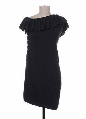 Robe pull noir AZZARO pour femme
