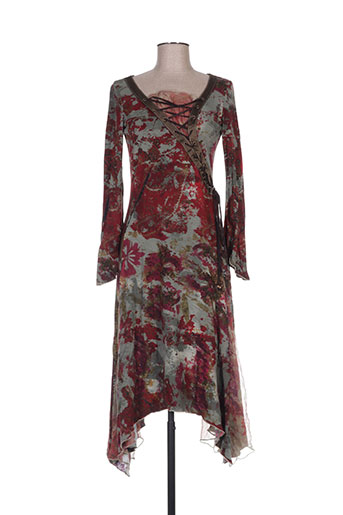 Robe mi-longue vert ROBERTA SCARPA pour femme
