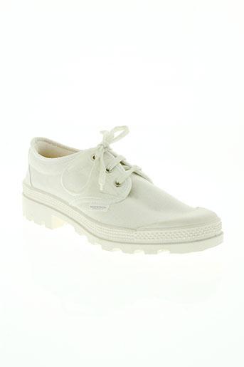 marathon corp chaussures femme de couleur blanc