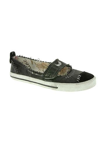 kaporal chaussures femme de couleur blanc