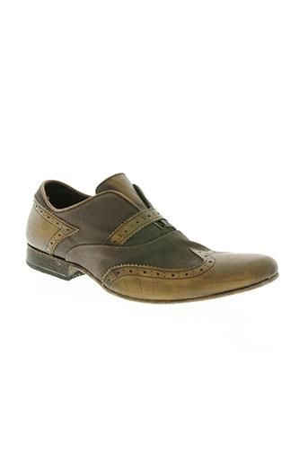 u roads chaussures homme de couleur marron