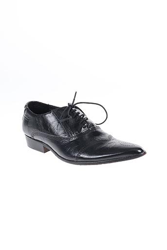 nobrand chaussures homme de couleur noir