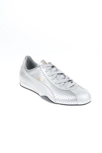 puma chaussures unisexe de couleur gris