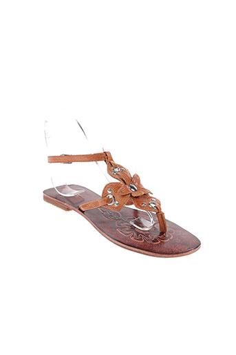 carla chaussures femme de couleur marron