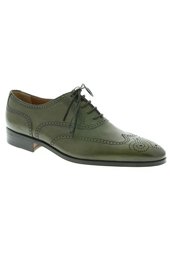 carvil chaussures homme de couleur vert