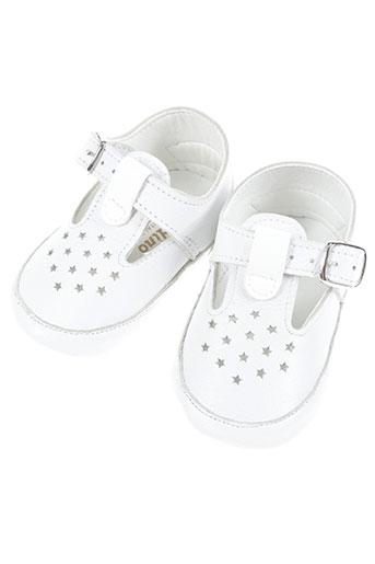 aladino chaussures fille de couleur blanc