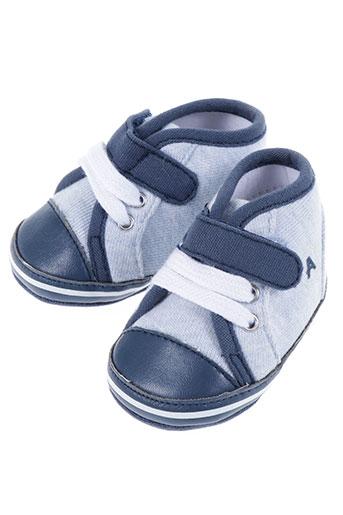 absorba chaussures garçon de couleur bleu