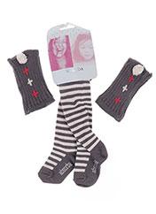 Collants gris ABSORBA pour fille seconde vue