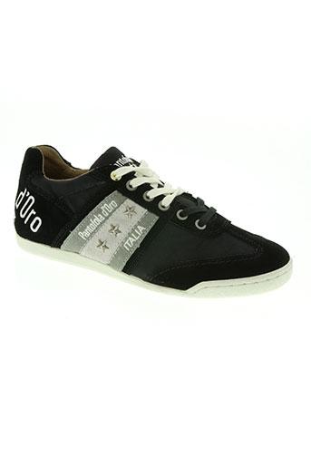 pantofola d'oro chaussures homme de couleur noir