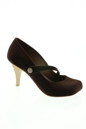 melissa chaussures femme de couleur marron