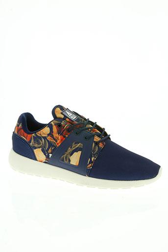 asfvlt chaussures homme de couleur bleu