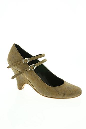 ippon styl chaussures femme de couleur beige