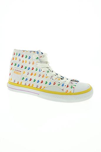 vision street wear chaussures femme de couleur blanc