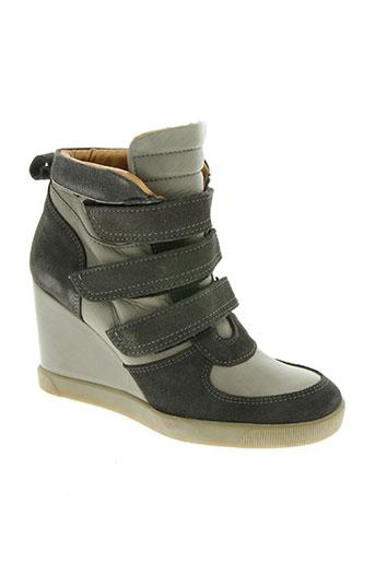 bee.fly chaussures femme de couleur gris