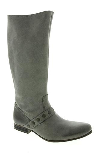 etik chaussures femme de couleur gris