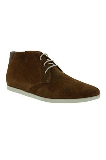 whooz chaussures homme de couleur marron