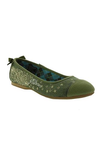 kitson chaussures femme de couleur vert