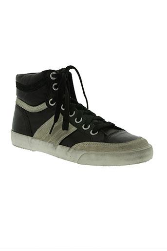 ash chaussures homme de couleur noir