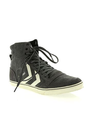 hummel chaussures homme de couleur gris
