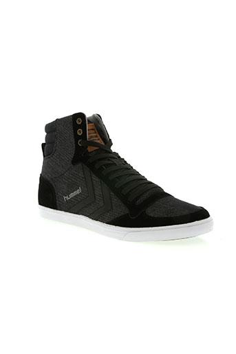 hummel chaussures homme de couleur noir