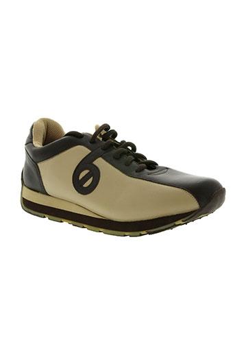 no name chaussures homme de couleur marron